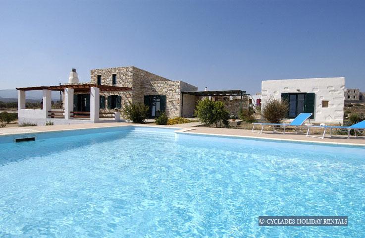 Louer une maison en grece cyclades